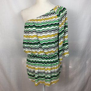 $4 SALE! Hourglass Lilly One Shoulder Top